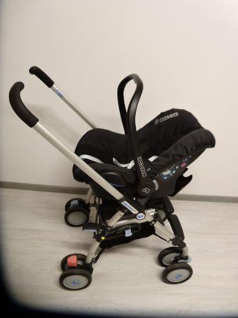 Wózek fotelik samochodowy Maxi Cosi City SPS 0-13 kg + Śpiworek