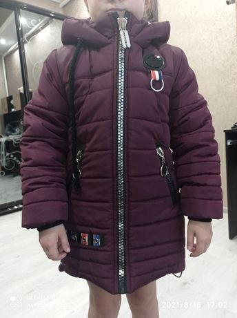 Пуховик зимняя куртка на девочку