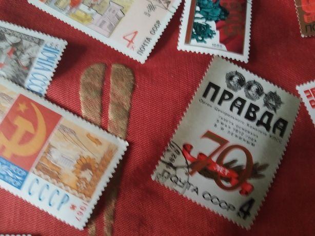 Марки разные из СССР