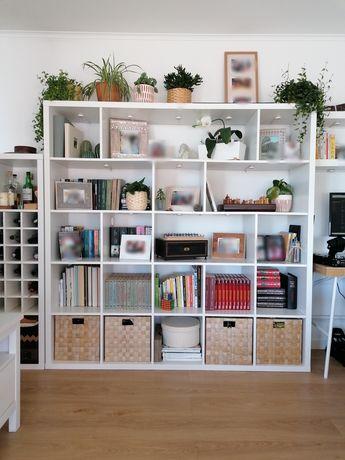 Estante IKEA Kallax branca 182x182cm