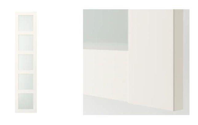 IKEA drzwi fronty BERGSBO do szafy PAX NOWE (dostępne 2szt)