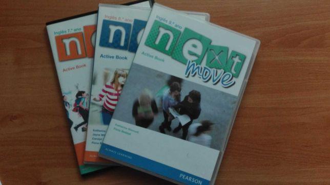 material de inglês 3º ciclo (CD e livros)