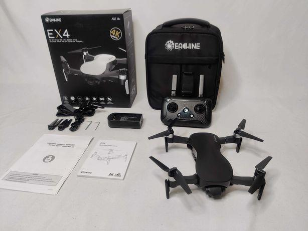 [NOVO] Drone Ex4 PRO GPS 4K [3 KM] [25 Minutos] 5.8 GHz + Mala