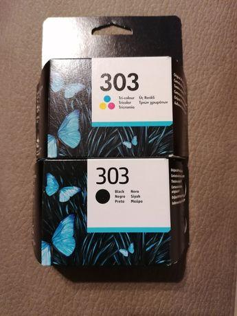Conjunto de tinteiros originais HP 303