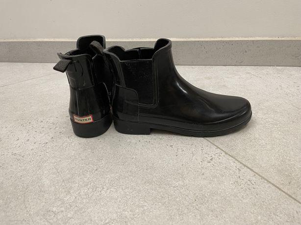 Резиновые сапоги ботинки Hunter chelsea 36
