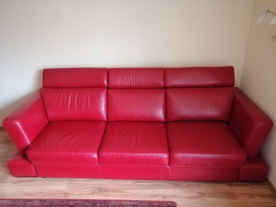 Sofa czerwona firmy GALA Ciechocinek - image 1