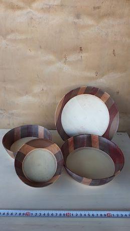 Peças únicas de artesanato em madeira, decoração