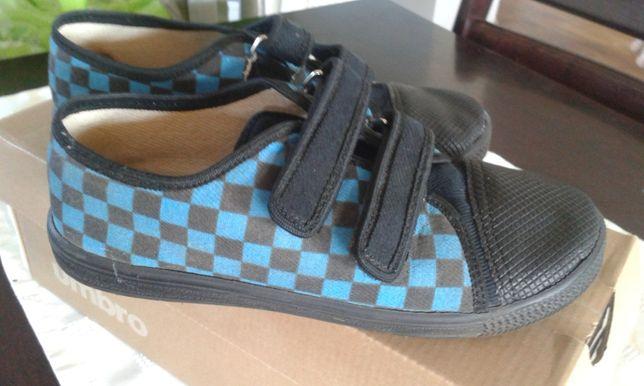 Trampki kratka buty chłopięce r 33 na rzepy