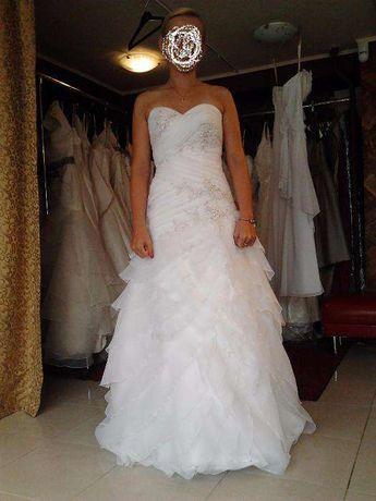 Piękna Suknia Ślubna KOLEKCJA ASPERA 4607 by Alicja Eklöw