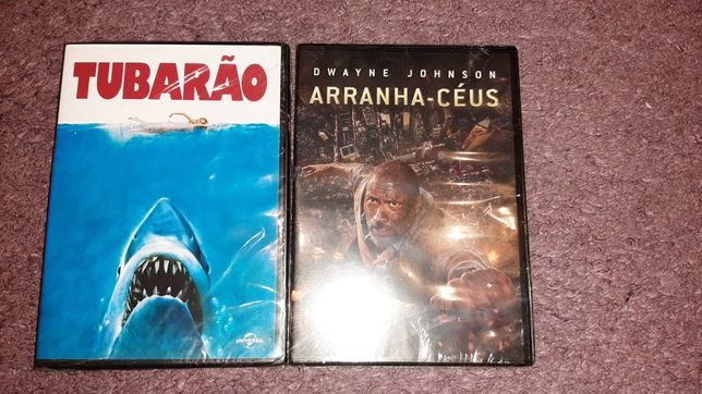 DVD's NOVOS E SELADOS- Arranha-Céus e Tubarão