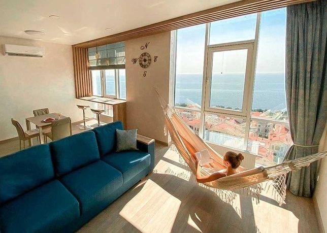 Апартаменты с роскошной панорамой моря