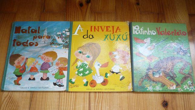 Livros Infantis Antigos - Lello & Irmão Editores (Anos 60)