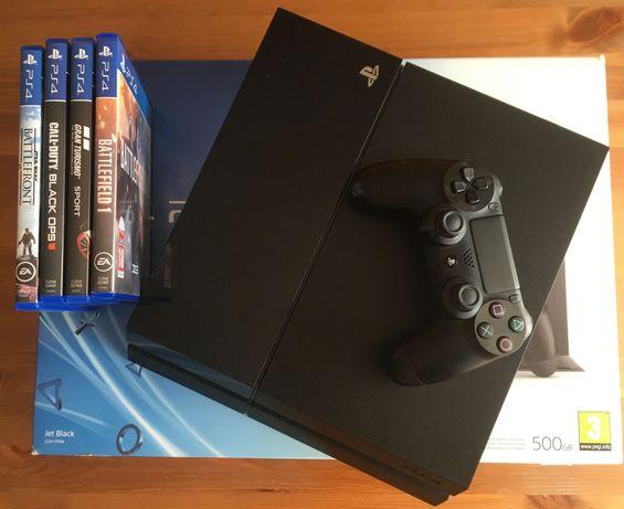 Konsola PS4 500GB + zestaw gier PlayStation 4