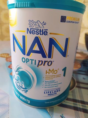 детская молочная смесь NAN Optipro 1