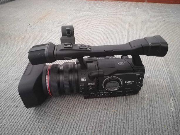 Câmara video HD Canon XH-A1E, 2 bat. + mochila + Placa captura HD