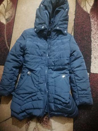 Зимнее пальто пуховик на девочку