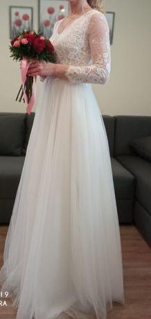 Suknia ślubna zjawiskowa