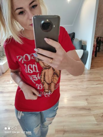 T-shirt rozmiar m i L