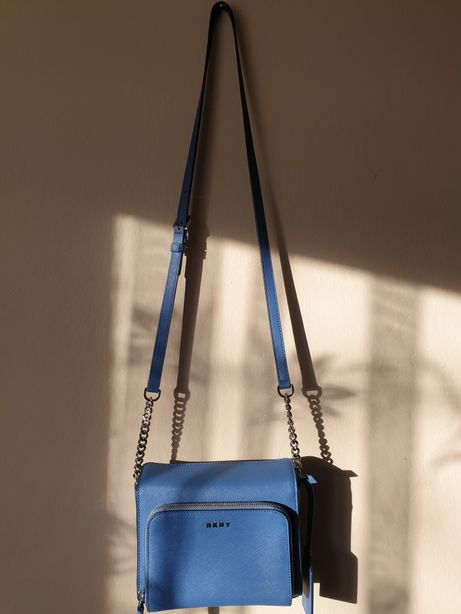 DKNY torebka oryginał niebieska