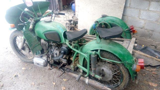 Мотоцикл МТ10 Днепр Урал КПП катушка редуктор, генератор 6 вольт.