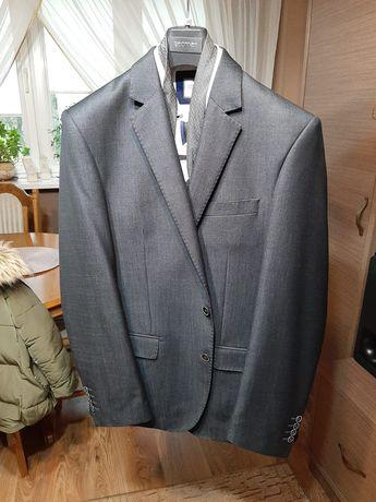 Garnitur roz.188/102 Slim, firmy RECMAN(+koszula,pasek,1krawat)