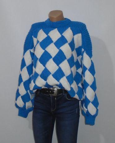 Об`ємний светр з рукавами ліхтариками\обьемный свитер