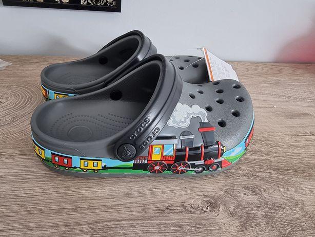 Buty klapki Crocs rozmiar 33,5 bliźniaki