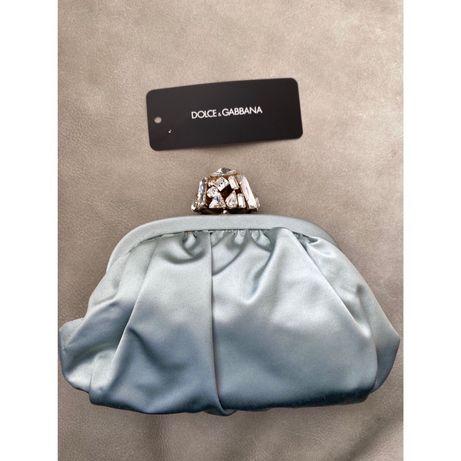 Клатч вечерний шелковый Dolce Gabbana