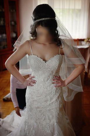 Suknia ślubna Sincerity 4016 Rybka Serduszko