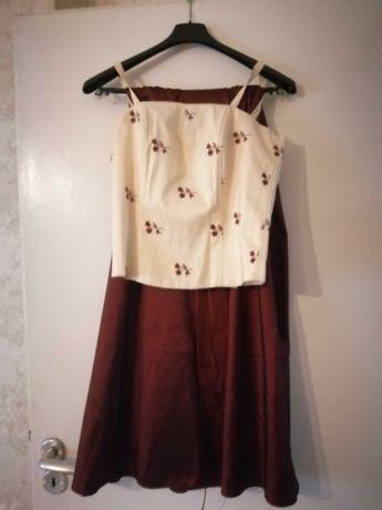 Spódnica z gorsetem r36