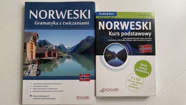 Język norweski - gramatyka z ćwiczeniami i kurs książka i CD