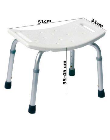 Krzesło taboret prysznicowy nowy