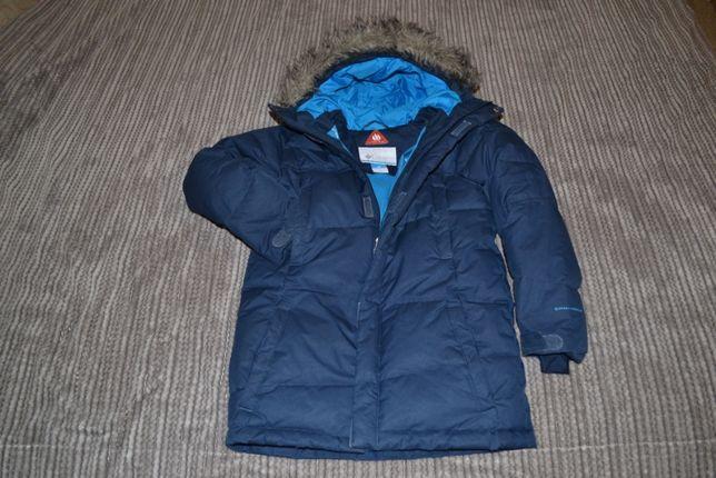 Детская зимняя куртка-пуховик Columbia Omni-Heat р.128см - 3500 руб