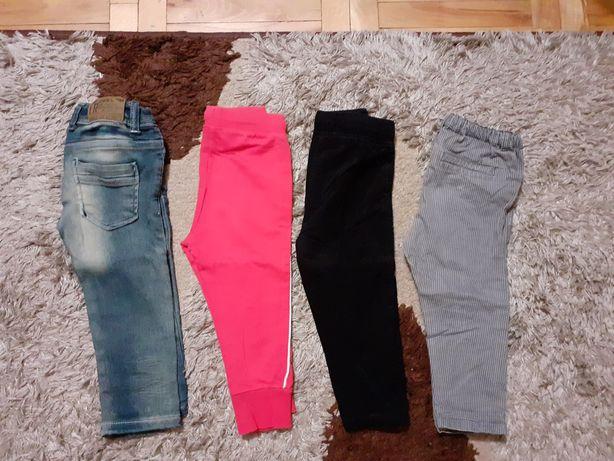 Spodnie chłopięce r. 86