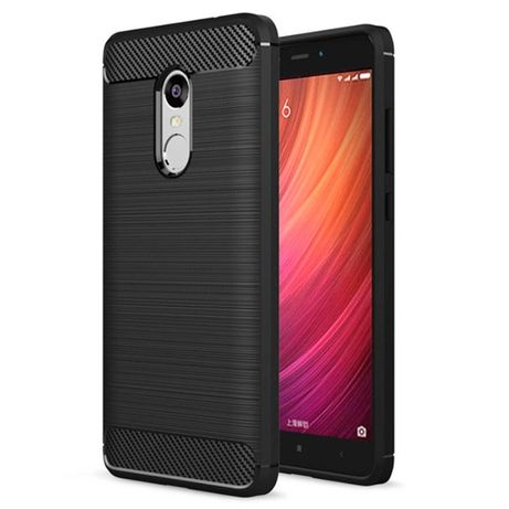 Xiaomi Note 4 Capa Traseira Simples Drop-resistance Soft Silicone TPU