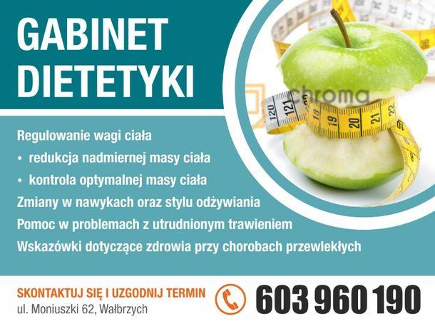 Dietetyk Wałbrzych, Układanie diet i jadłospisów, porady żywieniowe