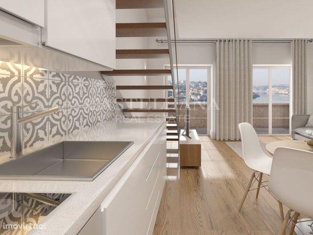 Apartamento T1 na encosta da Serra do Pilar, Vila Nova de...