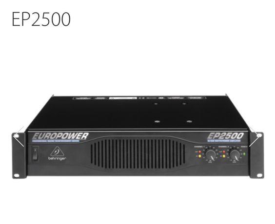Amplificador Behringer EP2500