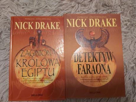 Zaginiona królowa Egiptu, Detektyw faraona Nick Drake