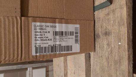 Płytki kafle Classic OAK Beige 22,1x89 gat.1 opoczno