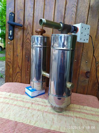 Дымогенератор мини ( Дружба) с охладителем дыма , вместимостью 3 л