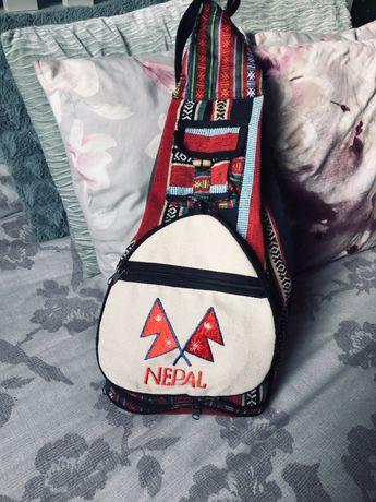 Plecak worek torba Made in Nepal handmade boho
