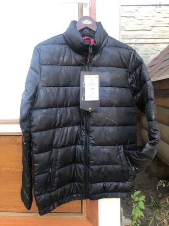 Чёрная мужская куртка Cropp