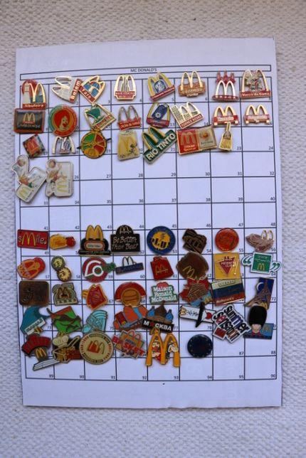Pin's McDonald's para Troca
