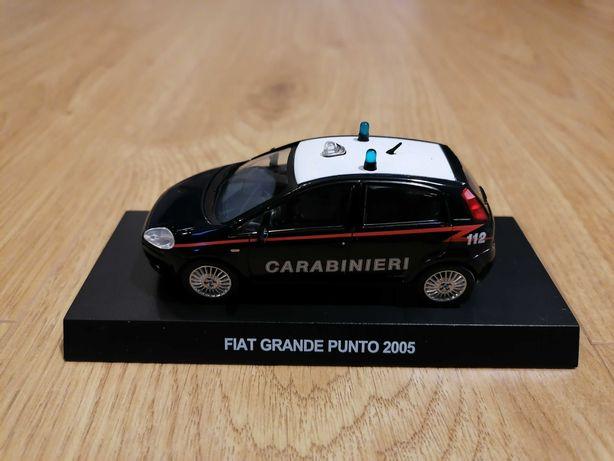 Model Fiat Grande Punto 1:43 Carabinieri - Nowy w blistrze