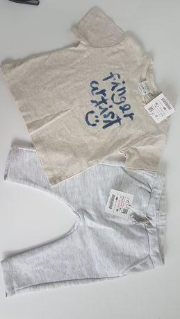 Nowy komplet Zara r.80