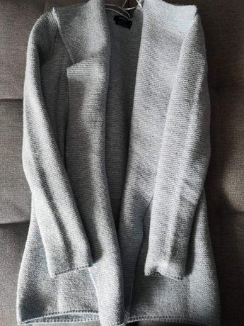 Sweter kardigan Reserved Niebieski r. S