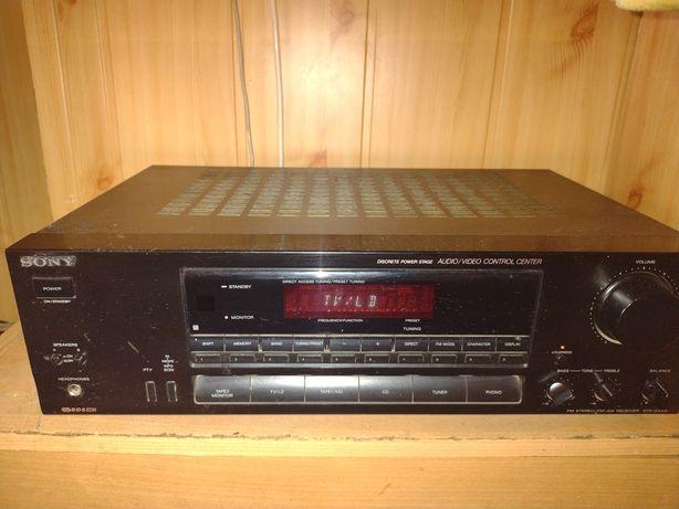 Amplituner Sony + głośniki