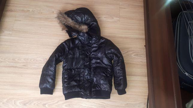 Zimowa chłopięce kurtka 122