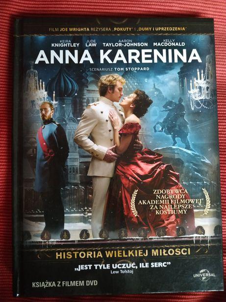 Film Anna Karenina ksiażka z filmem DVD